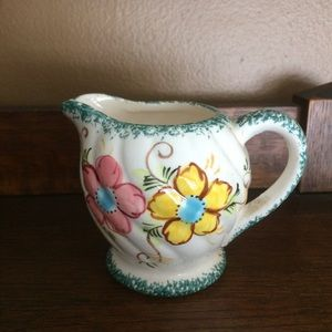 Vintage Hand Painted Creamer